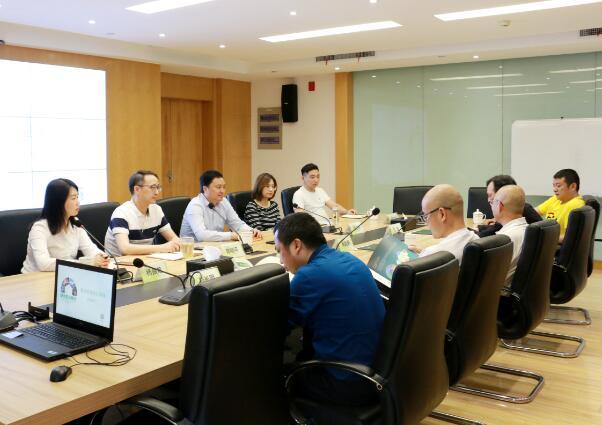 中国大唐湖南分公司领导到fun88乐天堂网址物流考察交流洽谈合作